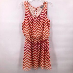 Like New Speechless zig zag print dress